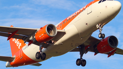 A picture of GEZDK - Airbus A319112 - easyJet - © Nicky Scott