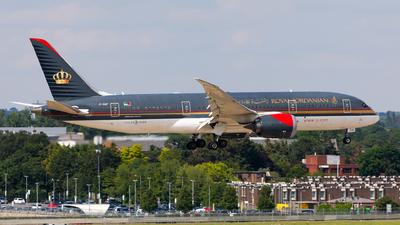 JY-BAF - Boeing 787-8 Dreamliner - Royal Jordanian