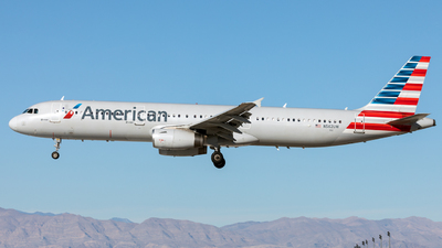 A picture of N562UW - Airbus A321231 - American Airlines - © Garey T. Martin