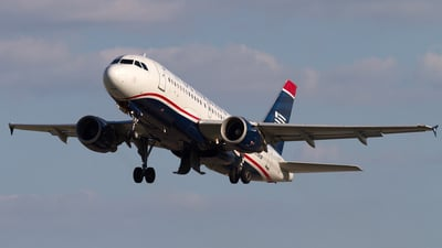 N754UW - Airbus A319-112 - US Airways