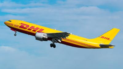A picture of DAEAD - Airbus A300B4622R(F) - DHL - © ZZDerek