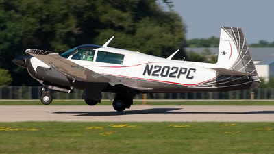 N202PC - Mooney M20J - Private