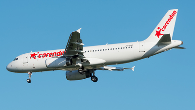 ZS-GAZ - Airbus A320-232 - Corendon Airlines (Global Aviation Operations)