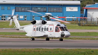A picture of GCHCK - Sikorsky S92A Helibus - CHC Helikopter Service - © Tartanpics