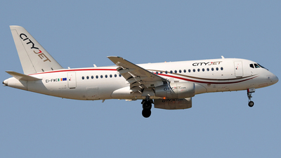 EI-FWC - Sukhoi Superjet 100-95B - CityJet