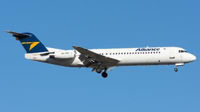 VH-FKC - Fokker 100 - Alliance Airlines