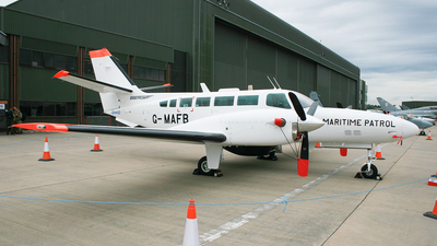 G-MAFB - Reims-Cessna F406 Caravan II - United Kingdom - Sea Fisheries Inspectorate (Directflight)