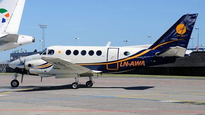 LN-AWA - Beechcraft A100 King Air - Airwing
