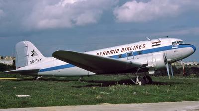 SU-BFY - Douglas DC-3 - Pyramid Airlines