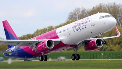 D-AVYI - Airbus A321-231 - Wizz Air