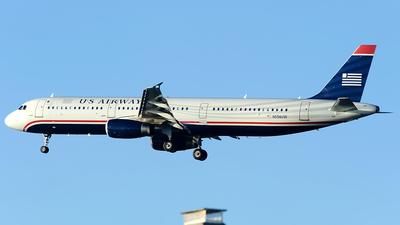 N556UW - Airbus A321-231 - US Airways