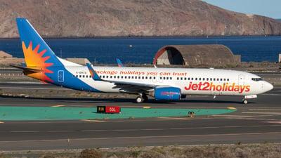 G-DRTG - Boeing 737-8BK - Jet2.com