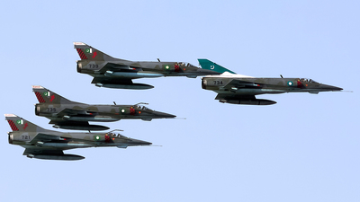 96-734 - Dassault Mirage 5VEF - Pakistan - Air Force