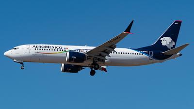 XA-MAQ - Boeing 737-8 MAX - Aeromexico