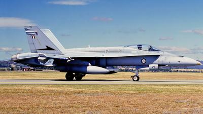 A21-21 - McDonnell Douglas F/A-18A Hornet - Australia - Royal Australian Air Force (RAAF)
