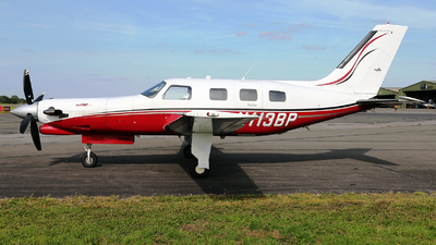 A picture of N113BP - Piper PA46350P Malibu Mirage - [4636363] - © Martin Robson