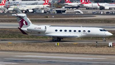 A7-CGB - Gulfstream G650 - Qatar Executive