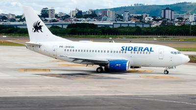 PR-SHE - Boeing 737-5H6 - Sideral Linhas Aéreas