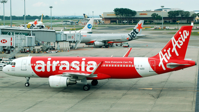 PK-AZD - Airbus A320-216 - Indonesia AirAsia