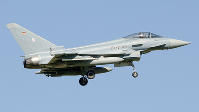 30-45 - Eurofighter Typhoon EF2000 - Germany - Air Force