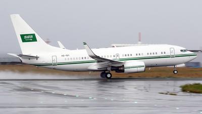 HZ-101 - Boeing 737-7DP(BBJ) - Saudi Arabia - Air Force