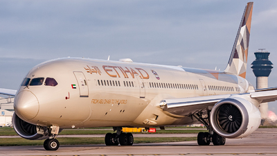A6-BLU - Boeing 787-9 Dreamliner - Etihad Airways