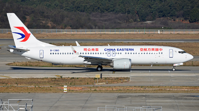 B-1380 - Boeing 737-8 MAX - China Eastern Airlines