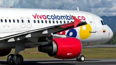 HK-4861 - Airbus A320-214 - VivaColombia