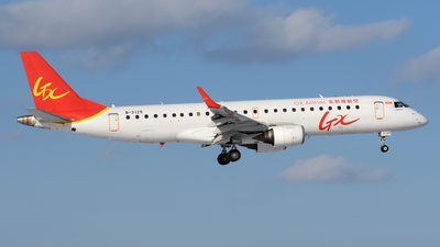 A picture of B3125 - Embraer E190LR - GX Airlines - © sunshy0621