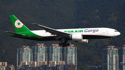 A picture of B16783 - Boeing 777F5E - EVA Air - © Ching Ho