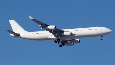 9H-SOL - Airbus A340-313X - Hifly Malta