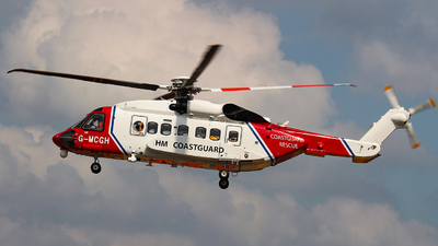 G-MCGH - Sikorsky S-92 Helibus - Bristow Helicopters