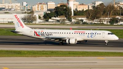 A picture of ECLCQ - Embraer E195LR - Air Europa - © Rui Marques