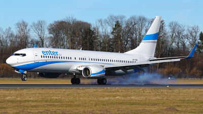 SP-ENZ - Boeing 737-85F - Enter Air