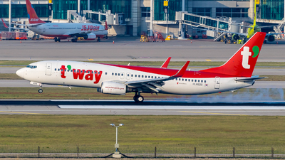 HL8220 - Boeing 737-8Q8 - T'Way Air
