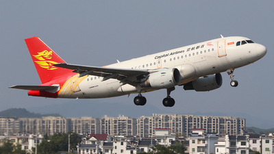 B-6215 - Airbus A319-132 - Capital Airlines