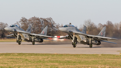42 - Mikoyan-Gurevich MiG-29UB Fulcrum - Poland - Air Force