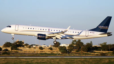 9H-GJC - Embraer 190 Lineage 1000 - Comlux Aviation Malta