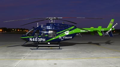 A picture of N403PH - Bell 407 - [53267] - © Zihaoo W & Donny H Photography