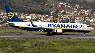 A picture of EIEFJ - Boeing 7378AS - Ryanair - © Martín Marrero Hdez