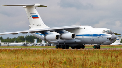 RA-76551 - Ilyushin IL-76MD - Russia - Air Force
