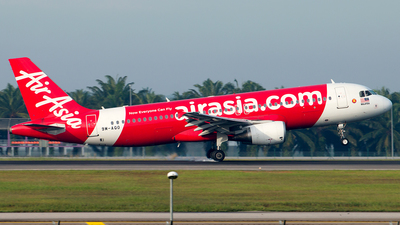 A picture of 9MAQO - Airbus A320216 - AirAsia - © Hon Kit