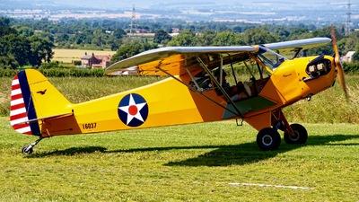 G-BSFD - Piper J-3C-65 Cub - Private