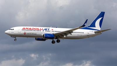 A picture of TCJGU - Boeing 7378F2 - Turkish Airlines - © Paul Buchröder
