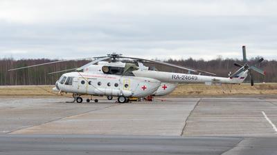 RA-24649 - Mil Mi-8AMT Hip - Vologda Air