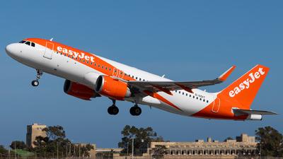 G-UZHT - Airbus A320-251N - easyJet