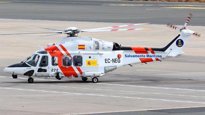 EC-NEG - Agusta-Westland AW-139 - Spain - Sociedad de Salvamento y Seguridad Marítima (SASEMAR)