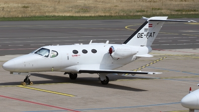 A picture of OEFAT - Cessna 510 Citation Mustang - GlobeAir - © Frank LCBS