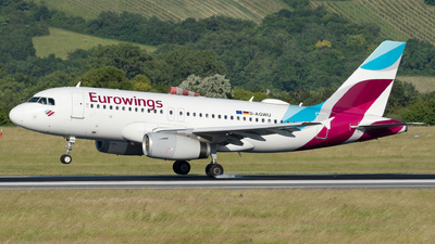 A picture of DAGWU - Airbus A319132 - Eurowings - © Michael Musil