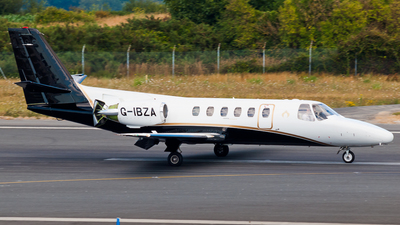 G-IBZA - Cessna 550 Citation II - Private